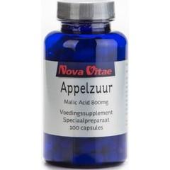 Nova Vitae Apfelsäure Apfelsäure 800 mg