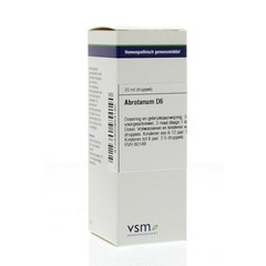 VSM Abrotanum D6