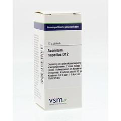 VSM Aconitum napellus D12