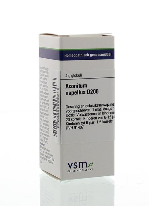 VSM VSM Aconitum napellus D200 (4 Gramm)