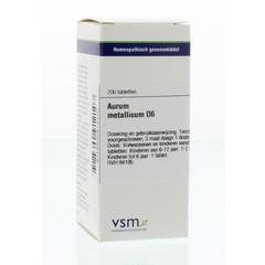 VSM Aurum metallicum D6