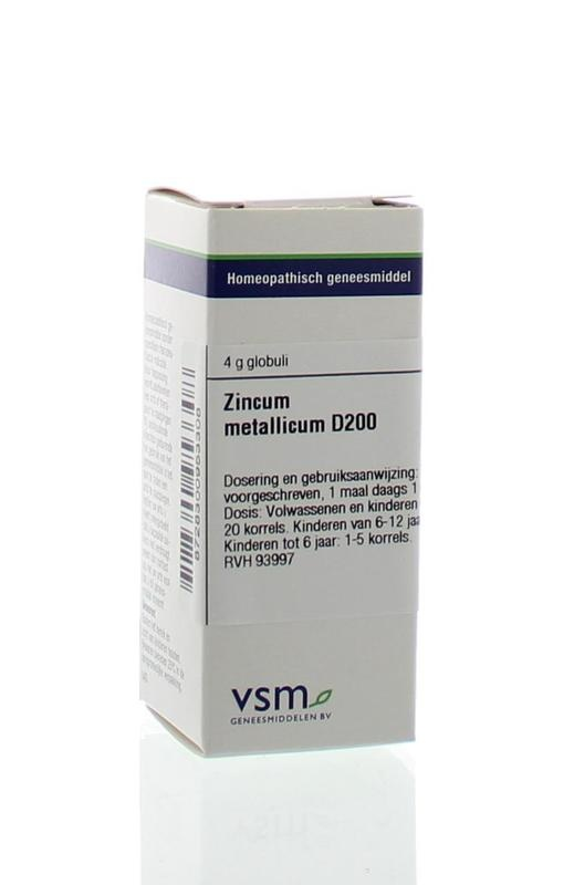VSM VSM Zinkmetallicum D200 (4 Gramm)