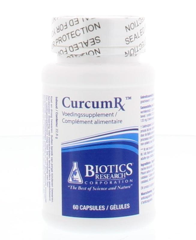 Biotics Biotics CurcumRX (60 Kapseln)
