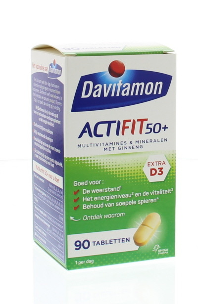 Davitamon Davitamon Actifit 50+ (90 Tabletten)