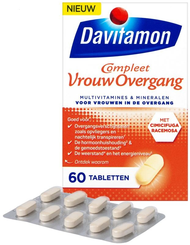 Davitamon Davitamon Komplette Frau Übergang (60 Tabletten)
