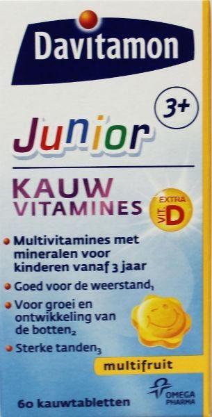 Davitamon Davitamon Junior 3+ Multifruit (60 Kautabletten)