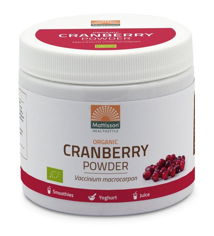 Mattisson Mattisson Absolutes Cranberry-Pulver (125 Gramm)