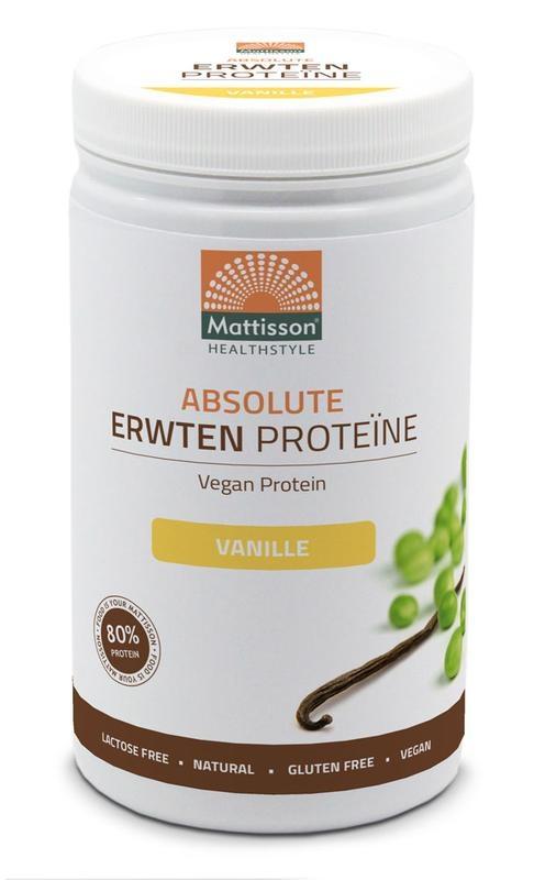 Mattisson Mattisson Absolutes Erbsenprotein Vanille (350 Gramm)