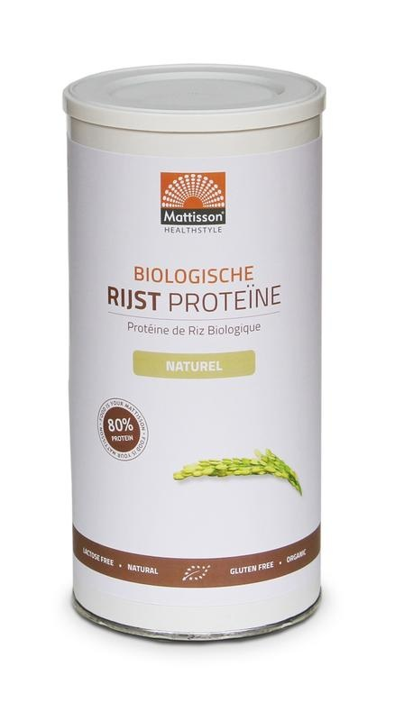 Mattisson Mattisson Absoluter Reis Natürliches organisches Protein (500 Gramm)