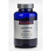 Nova Vitae Nova Vitae Lecithin 1200 mg (100 Kapseln)