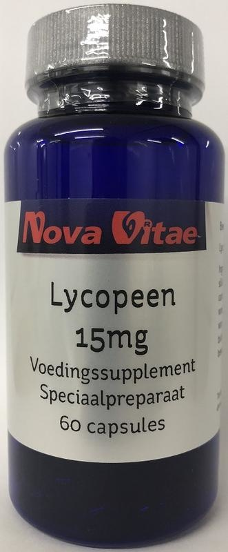Nova Vitae Nova Vitae Lycopin 15 mg (60 Kapseln)