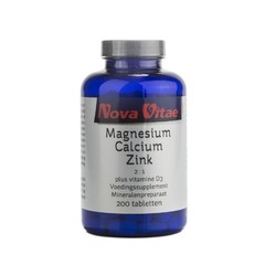 Magnesiumcalcium 2: 1 Zink D3