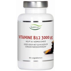 Nutrivian Vitamin B12-Methylcobalamin 3 mg