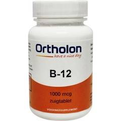 Ortholon Vitamin B12 1000 mcg sublingual