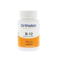 Ortholon Vitamin B12-Methylcobalamin 1000 mcg