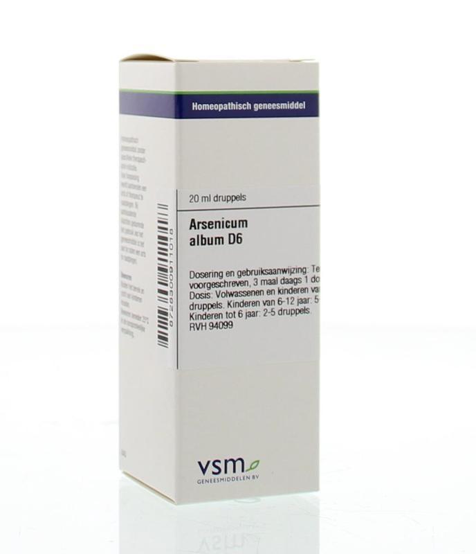 VSM VSM Arsenalbum D6 (20 ml)