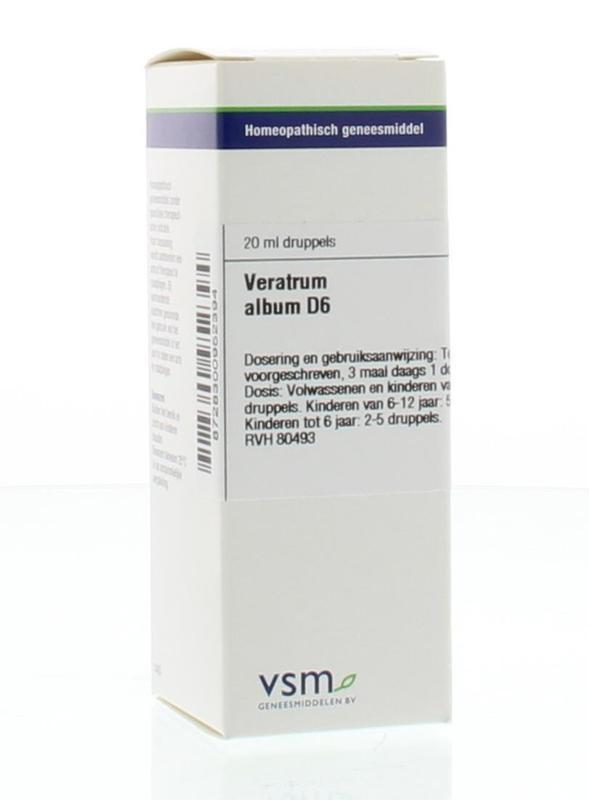 VSM VSM Veratrum album D6 (20 ml)