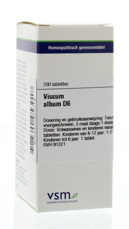 VSM VSM Viscumalbum D6 (200 Tabletten)