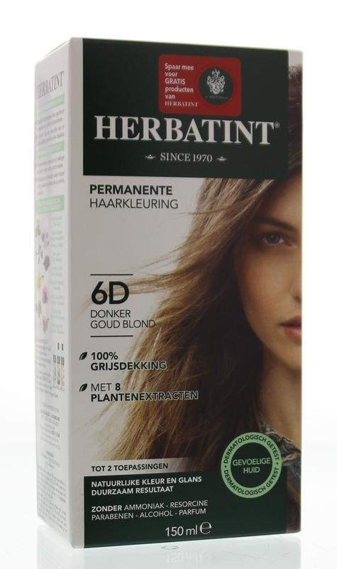 Herbatint Herbatint 6D Dunkelgoldblond (150 ml)