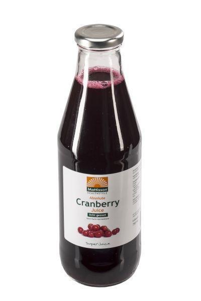 Mattisson Mattisson Absoluter Cranberrysaft leicht gesüßt (750 ml)