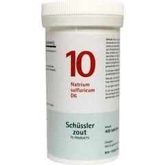 Pfluger Natrium sulfuricum 10 D6 Schussler
