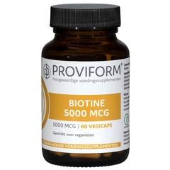 Proviform Biotin 5000 mcg
