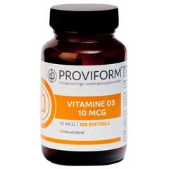 Proviform Vitamin D3 10 mcg