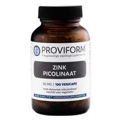 Proviform Zinkpicolinat 30 mg