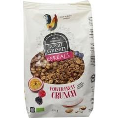 Royal Green Getreide macht Obst Crunch
