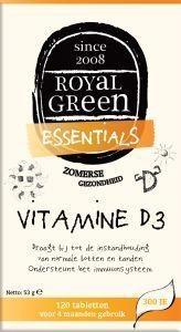 Royal Green Royal Green Vitamin D3 (120 Tabletten)