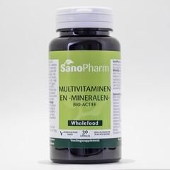 Sanopharm Multivitamine / Mineralien Vollwertkost
