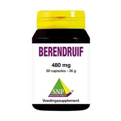 Bärentraube 480 mg