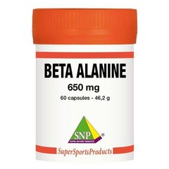 SNP Beta Alanin 650 mg rein