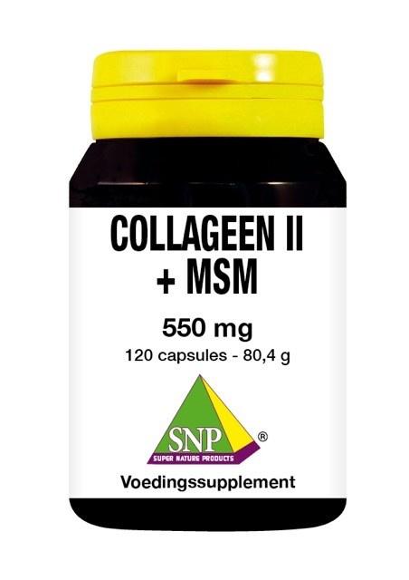 SNP SNP Kollagen II + MSM (120 Kapseln)