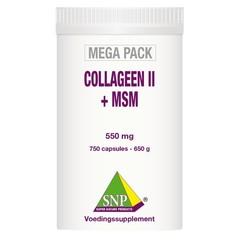 SNP Collagen II + MSM Megapackung