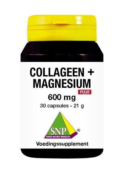SNP SNP Kollagenmagnesium 600 mg rein (30 Kapseln)