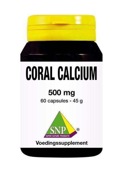 SNP SNP Korallenkalzium 500 mg (60 Kapseln)