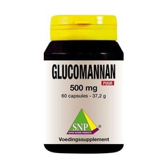 Glucomannan 500 mg rein