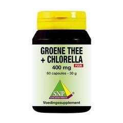 Grüner Tee Chlorella 400 mg rein