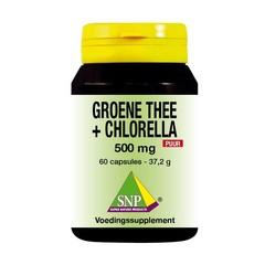 Grüner Tee Chlorella 500 mg rein