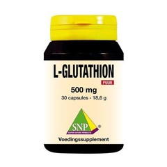 SNP L-Glutathion 500 mg rein