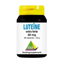 SNP Lutein extra forte 40 mg