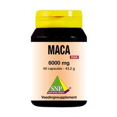 Maca 6000 mg rein