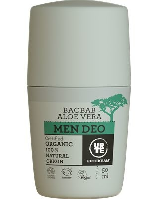 Urtekram Urtekram Deodorant Roller für Männer (50 ml)