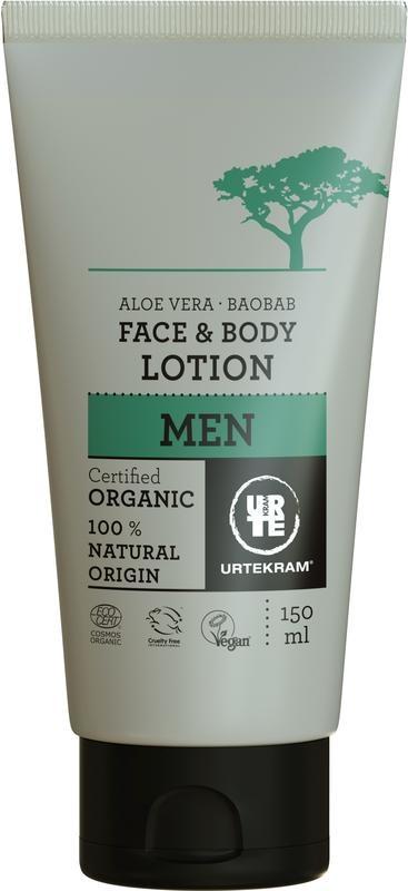Urtekram Urtekram Männer Gesicht und Körperlotion (150 ml)