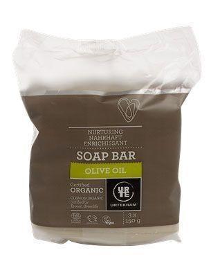Urtekram Urtekram Seife 3er-Packung Olive Bio (450 Gramm)