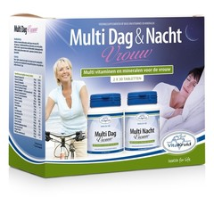 Vitakruid Multi Tag & Nacht Frau 2x30 Tabletten