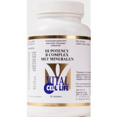Vital Cell Life Hochwirksamer B-Komplex und Mineralien