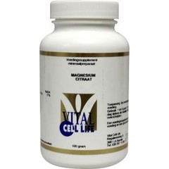 Vital Cell Life Magnesiumcitrat 80 mg Pulver