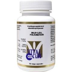 Vital Cell Life Vitamin B6 / B12 / B2-Folsäure